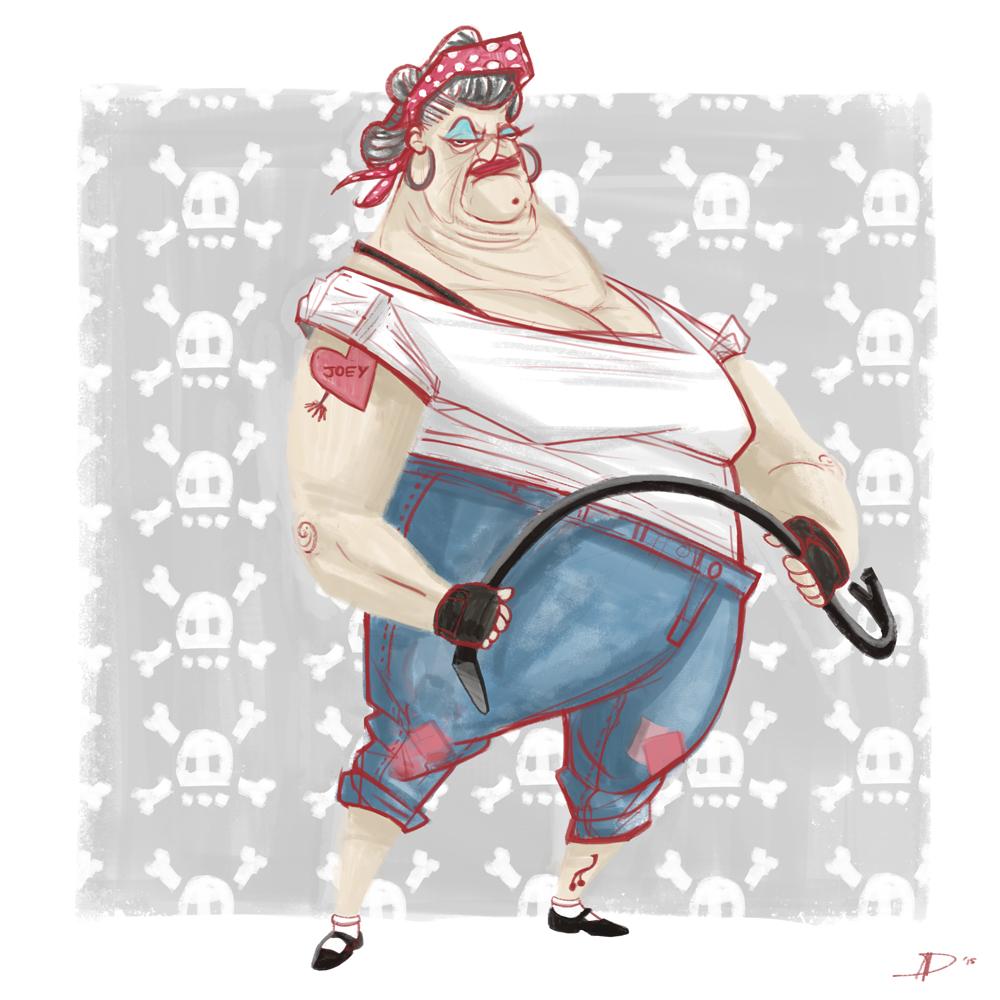 Ruffian Grandmas - Rose