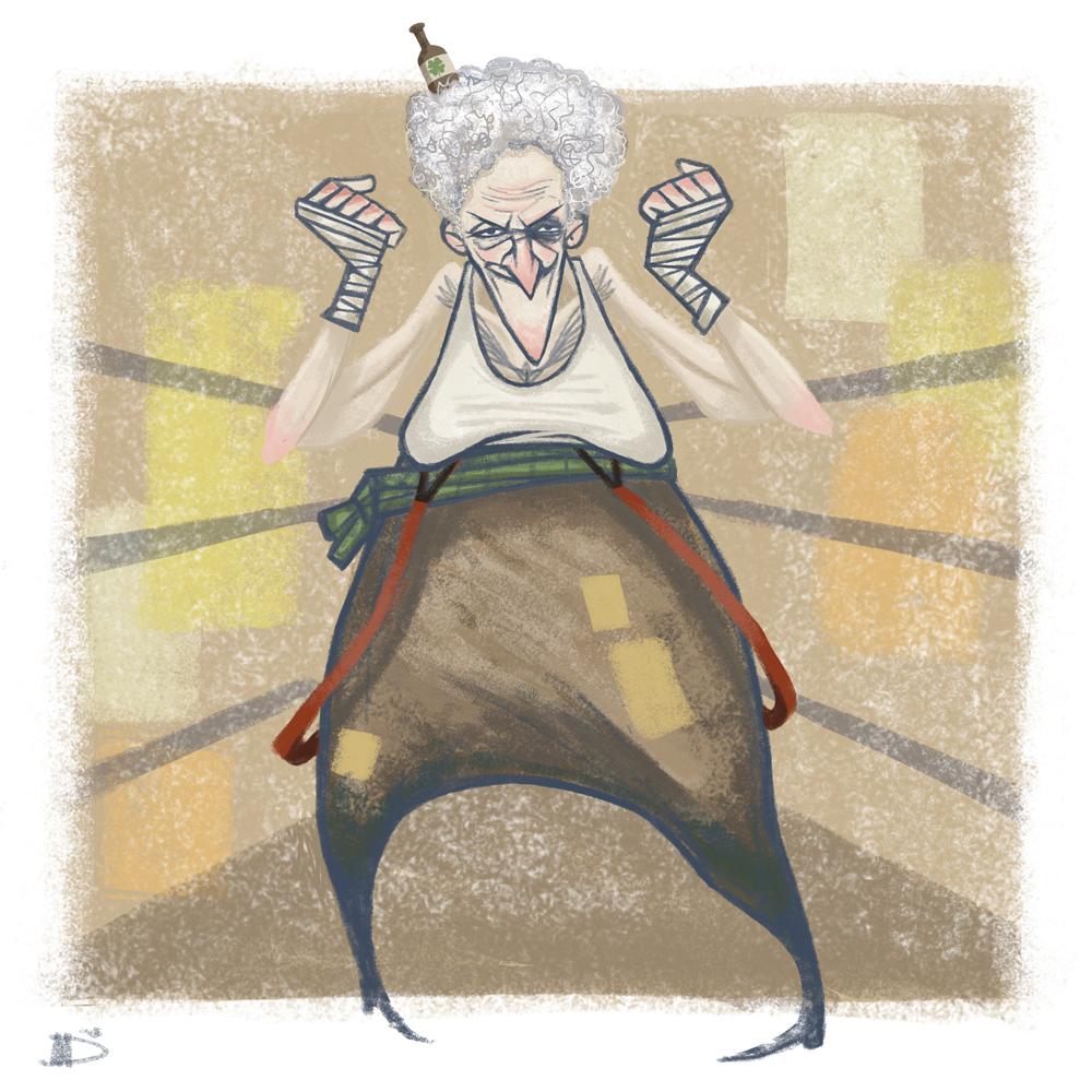 Ruffian Grandmas - Mad Mamma Mothballs McNanny