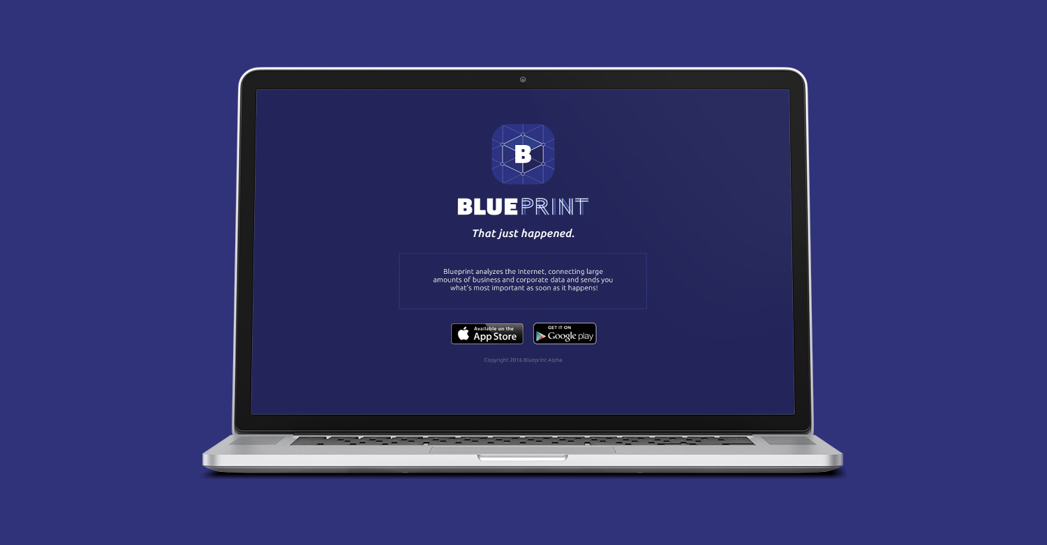 Blueprint app website caitlin douglas blueprint logo copyg malvernweather