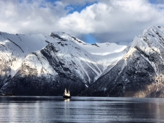 Just one of the spectacular shots of the incredible scenery found in Norway