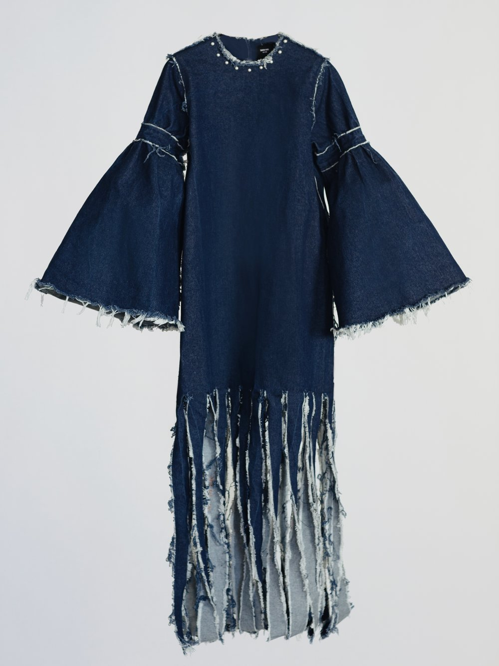 CARWASH LONG DENIM DRESS