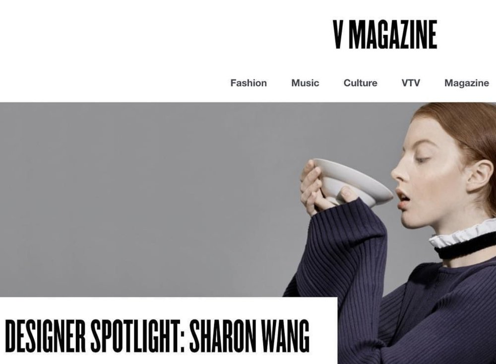 V MAGAZINE SHARON WANG