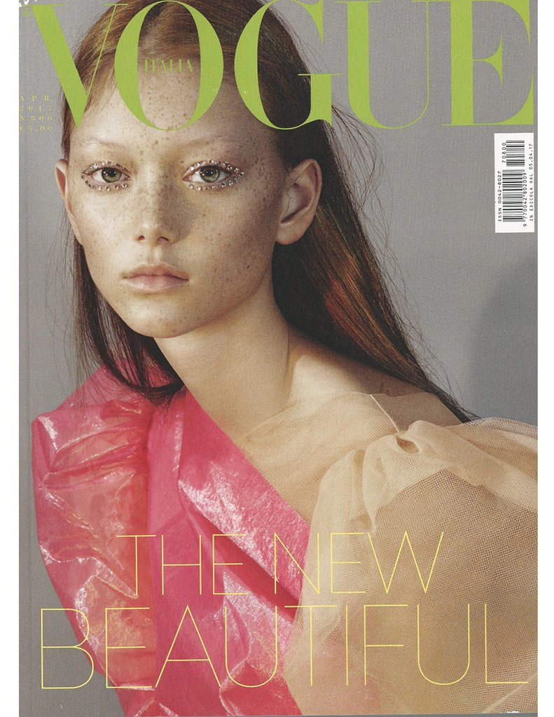 vogue italia April 2017 cover