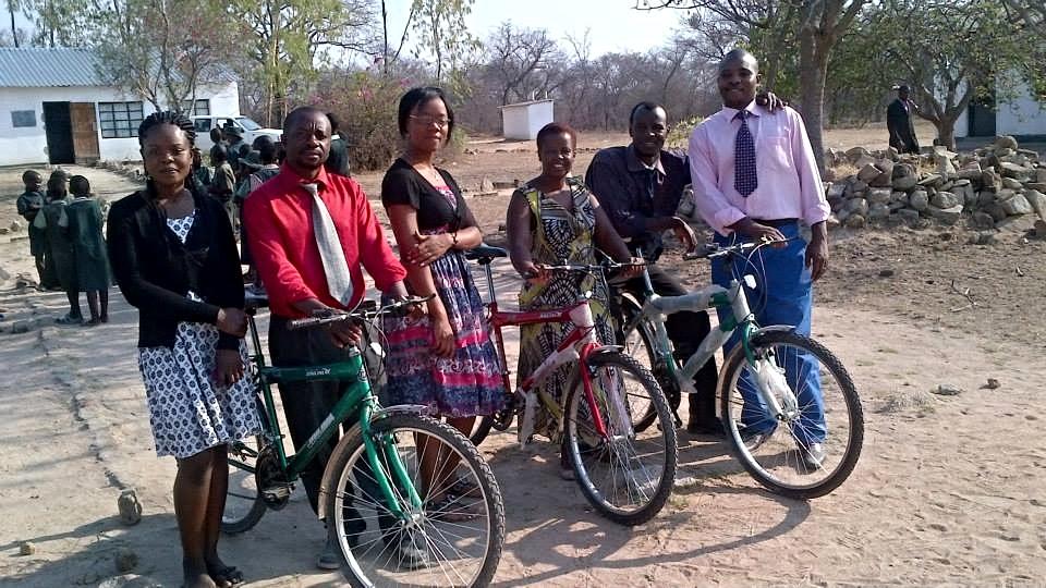 Empowering, equipping and supporting teachers at Marumbi School, Zviyambe...