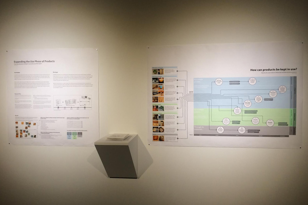 Poster display in the 2015 Ohio State Design Exhibition