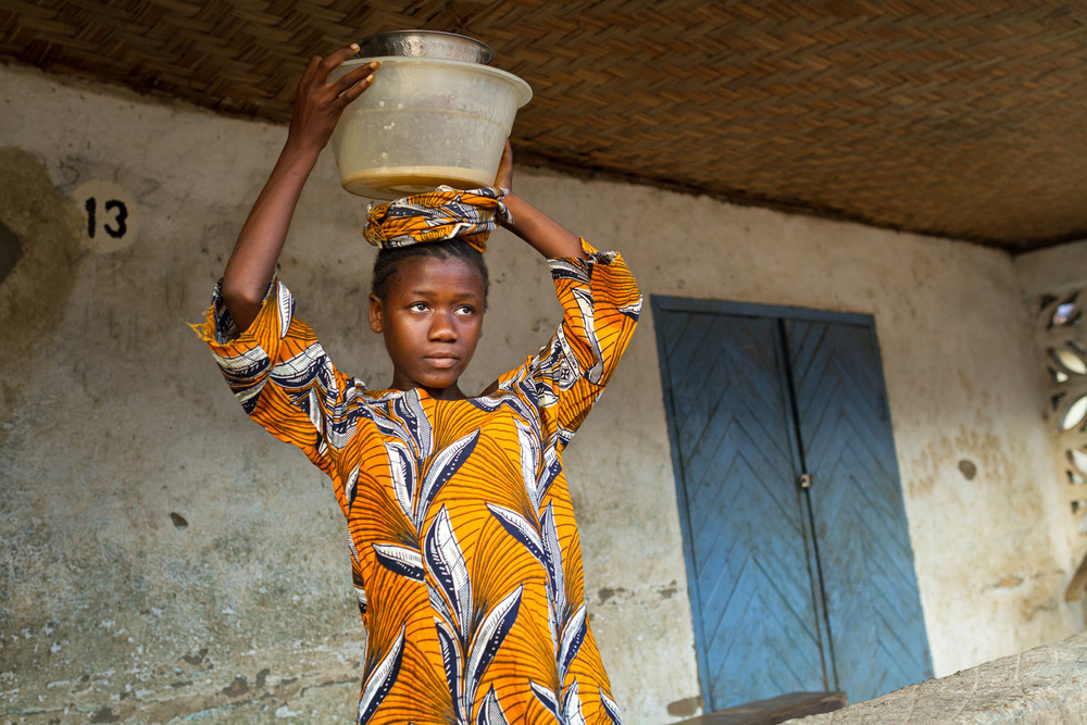 OPEN THIS PUBLICATION  UNICEF SIERRA LEONE: KUMBA'S STORY