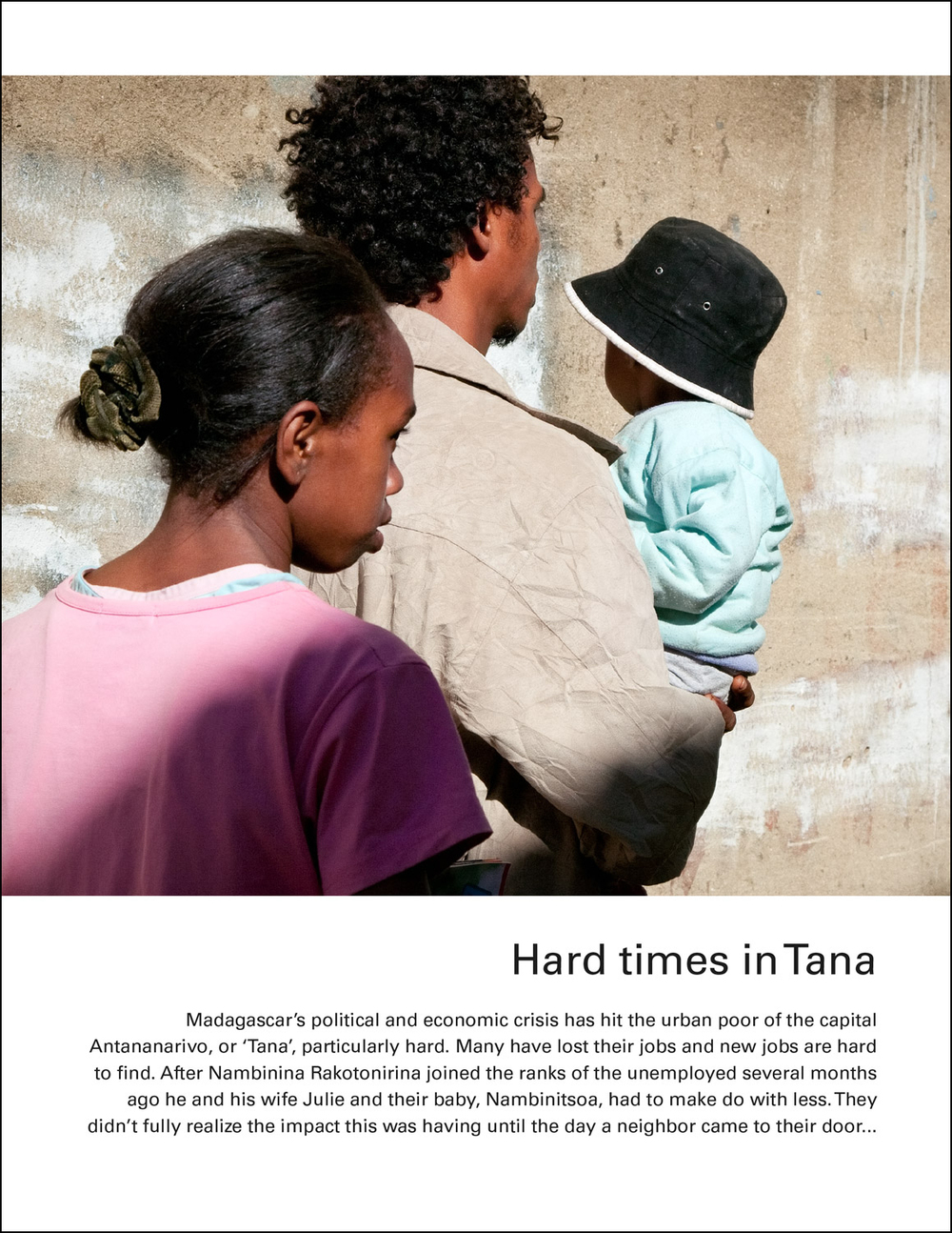 UNICEF Madagascar: Hard Times in Tana