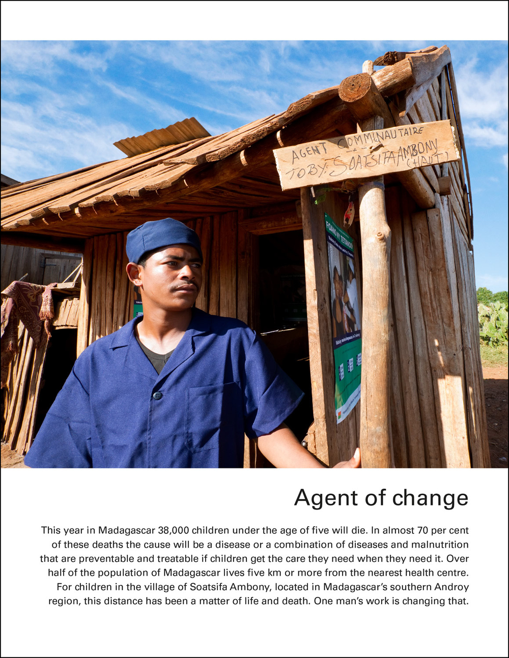 UNICEF Madagascar: Agent of Change