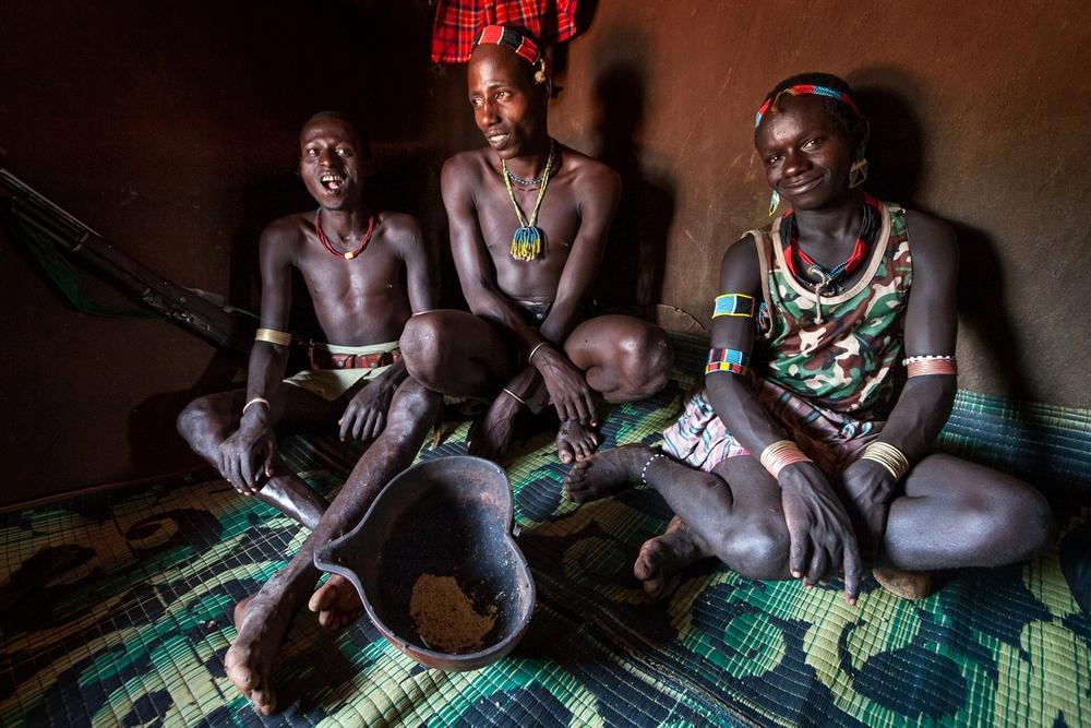 Breakfast; Omo Valley, Ethiopia