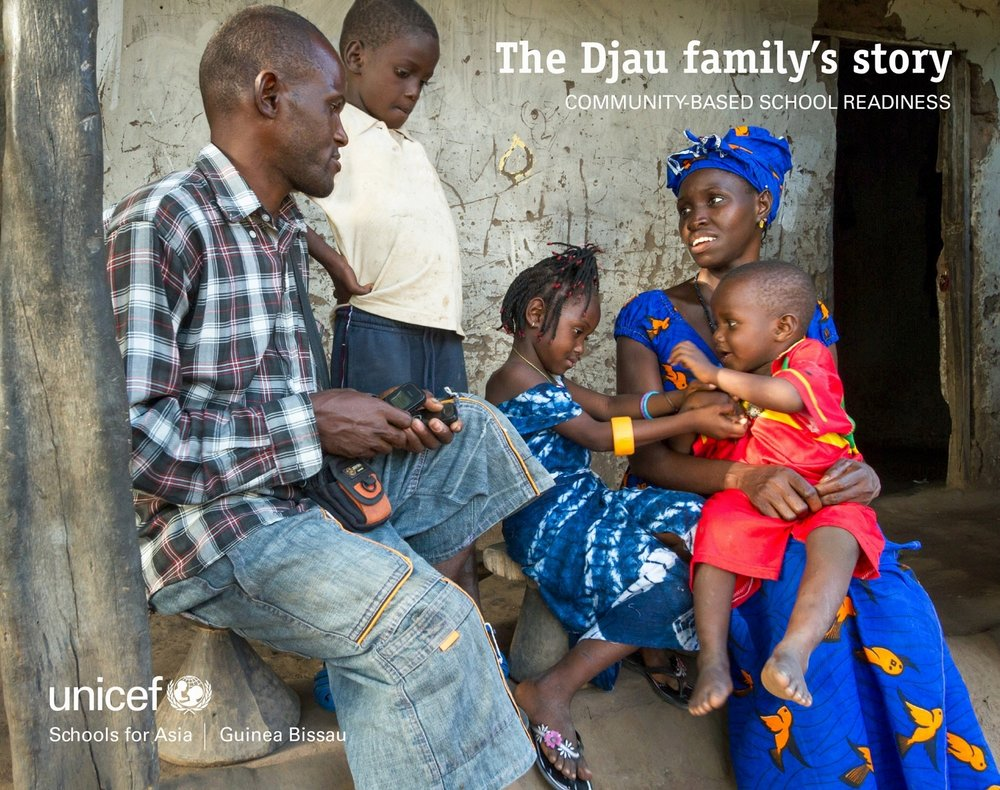 UNICEF Guinea Bissau: The Djau family's story