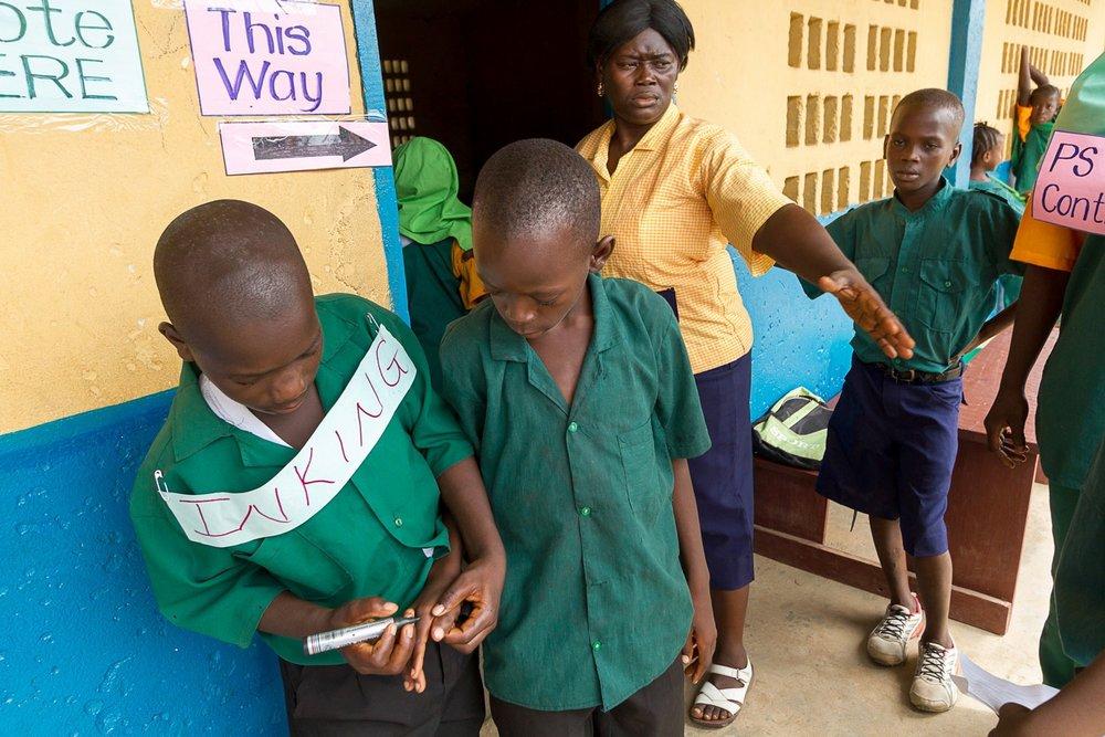 OPEN THIS PUBLICATION  UNICEF SIERRA LEONE: ABU'S STORY