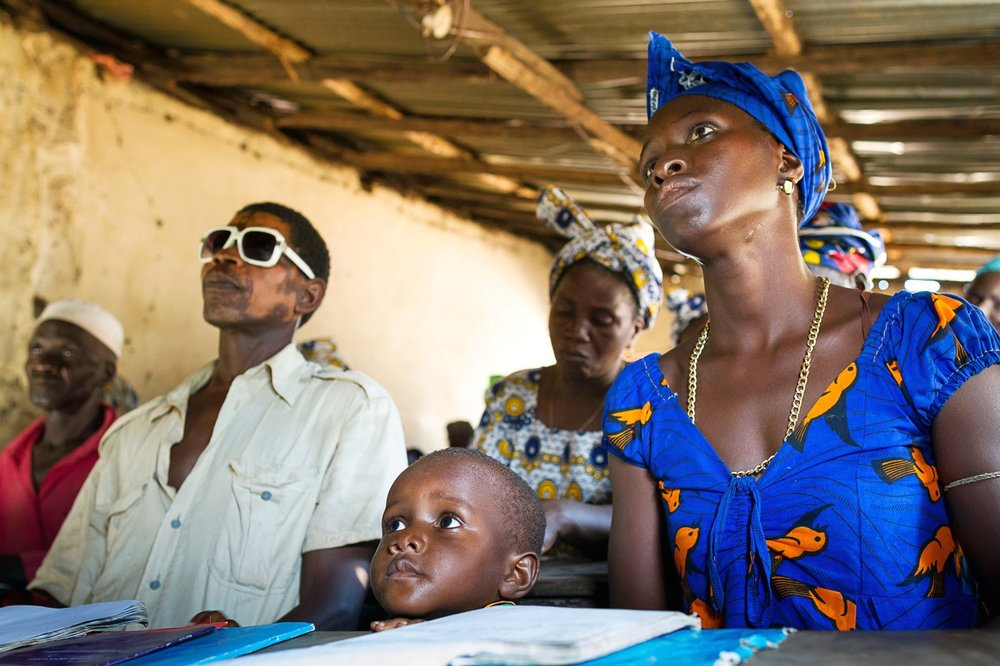 OPEN THIS PUBLICATION  UNICEF GUINEA BISSAU: THE DJAU FAMILY'S STORY
