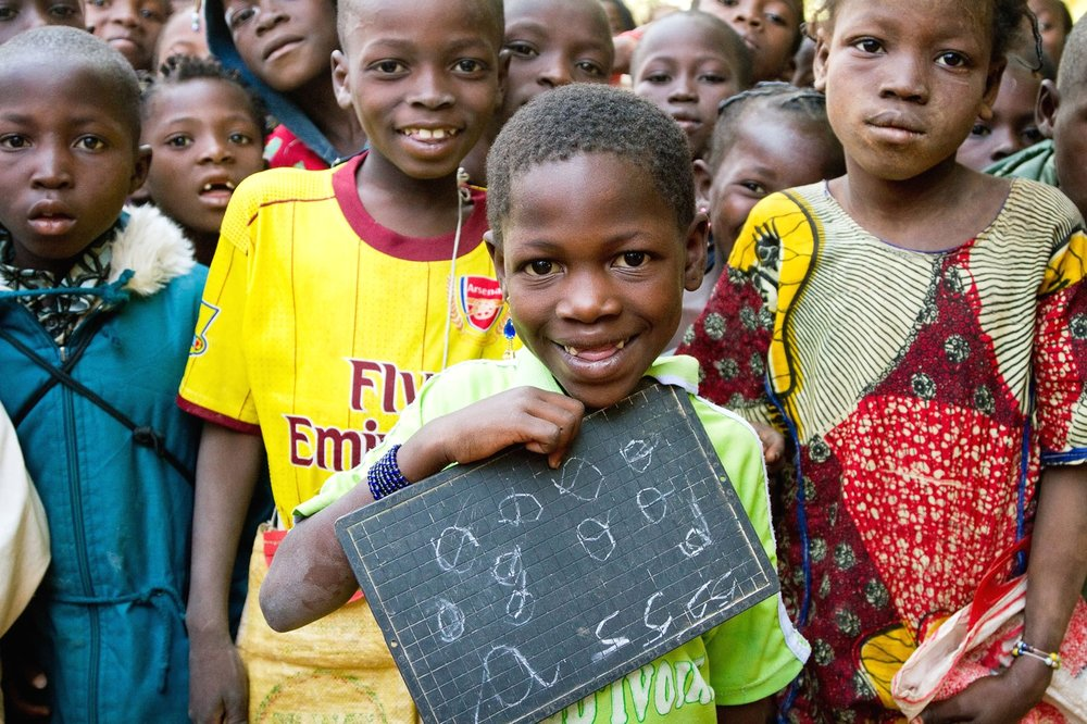 OPEN THIS PUBLICATION  UNICEF BURKINA FASO: INVESTING IN THE FUTURE