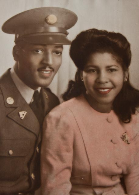 "Wilson Monk and Mertina Madison in 1941. The Monks were married for 68 years. ""I love you more than yesterday,"" Wilson used to say."