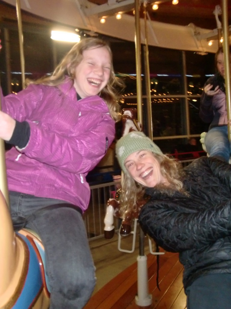 Carousel Fun at Zoolights!