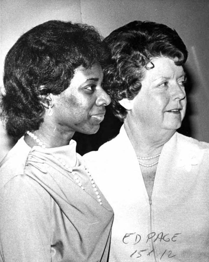 Loretta Thompson-Glickman and Josephine Heckman 1981 (Photo/Ed Norgord)