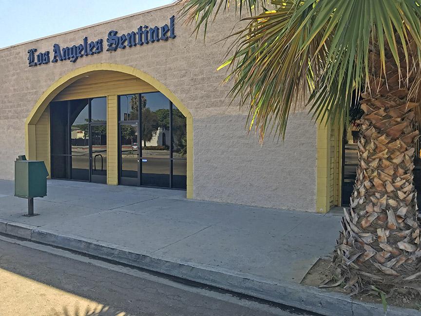 Los Angeles Sentinel headquarters (Photo / Doug Forbes)