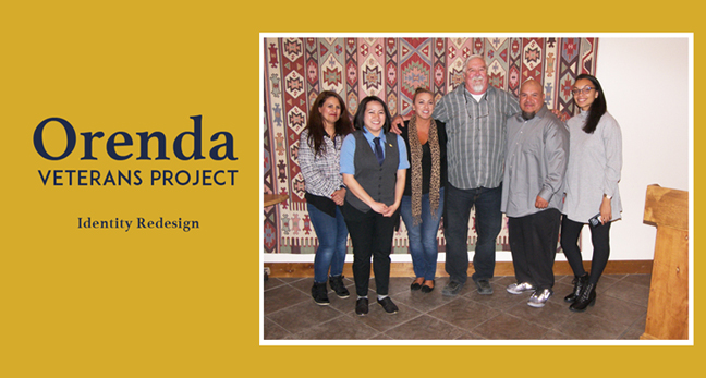 Design Team - Orenda Veterans Project