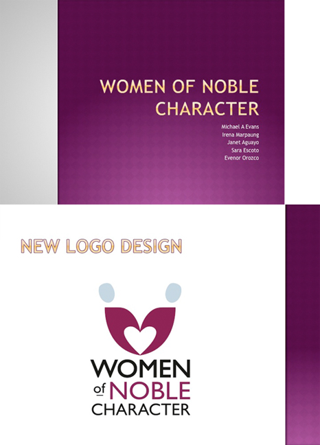 New Logo - Women of Noble Character