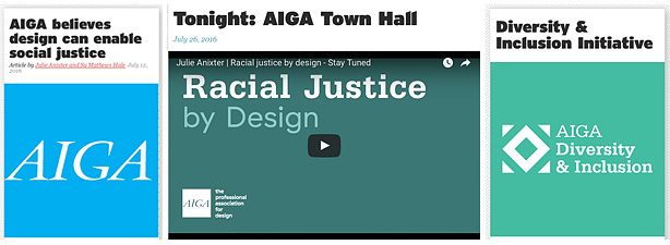 """Designers have the capacity to enhance empathy and prototype adaptive solutions to social issues."" Watch the video of the Town Hall proceedings on Youtube."