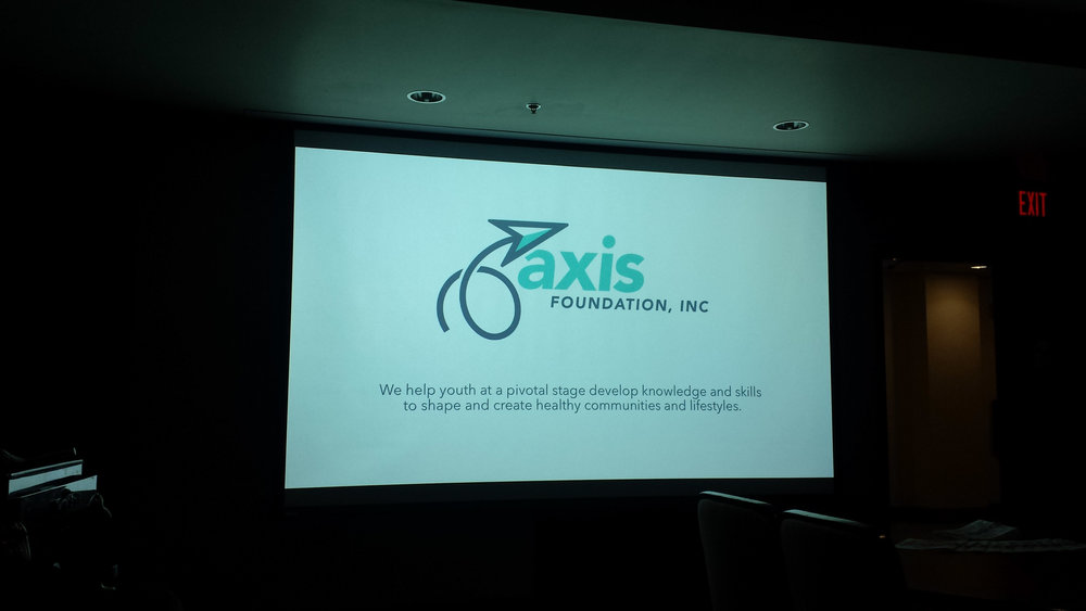 New AXIS Foundation logo.