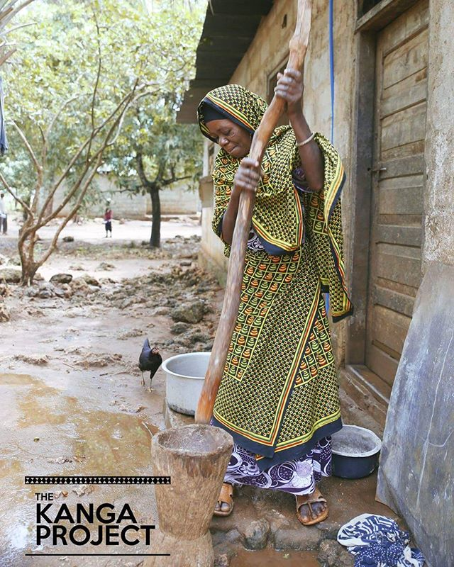A mother at Tumbatu Island prepares a meal in her traditional printed Kanga  #kangamovement #kangacrush #charity #tanzania #zanzibar #zanzibarcharity #africacharity #supportthecause #liveauthentic #travelafrica #visiterlafrique #dynamicafrica #sendjoy #internationalphotographer #womenappreciation #femaleempowerment #spreadlove #giveback #vscocam #makeportraits #instatravel #travelgram