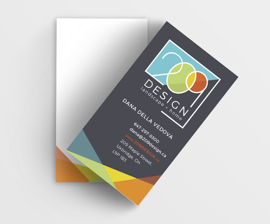 209 business card
