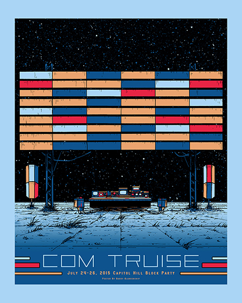 Com Truise Capitol Hill Block Party 2015