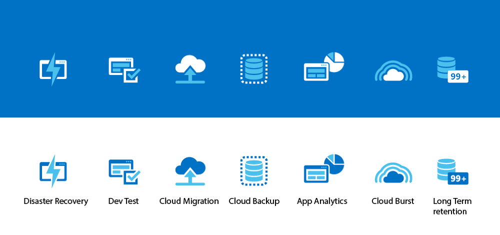 Infographic/illustration and icon creation for Azure.com