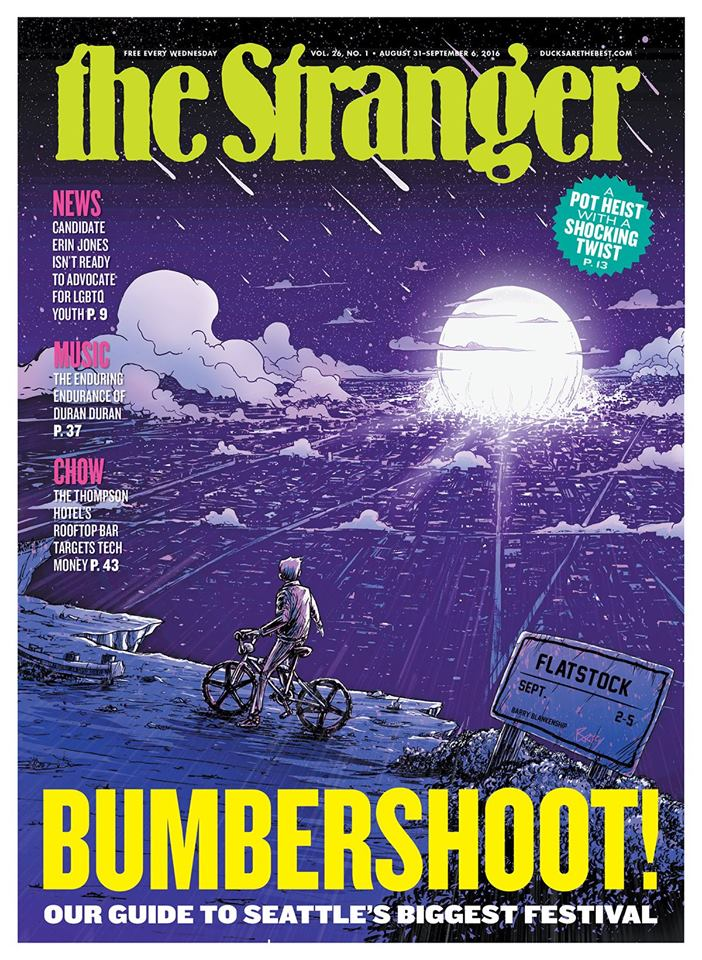 Seattle Stranger Cover