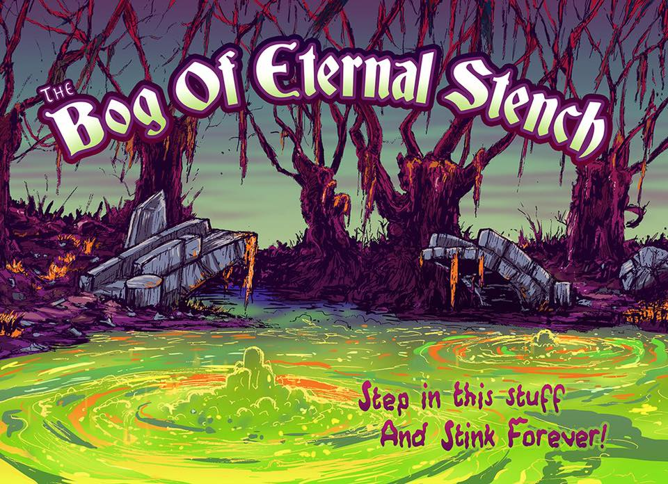 Visit The Bog Of Eternal Stench