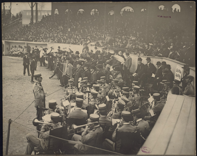 Boston Rooters singing Tessie, 1903 World Series