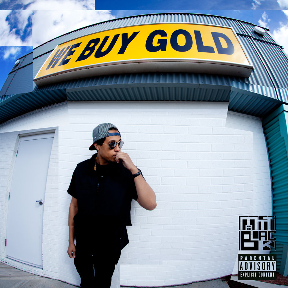 WE BUY GOLD MATT BLACK