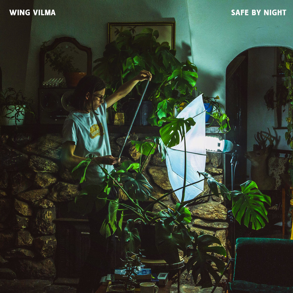Wing Vilma - Safe By Night - Released: February 2nd, 2018.Key Tracks: RB III, 8008, Cherry GranolaSafe By Night is the debut album from producer/instrumentalist Wing Vilma. A record dense with percussion, texture and rhythmic tension, Safe By Night is one of YHS' most daring and sophisticated releases to date. The album is available digitally and on limited edition green vinyl.