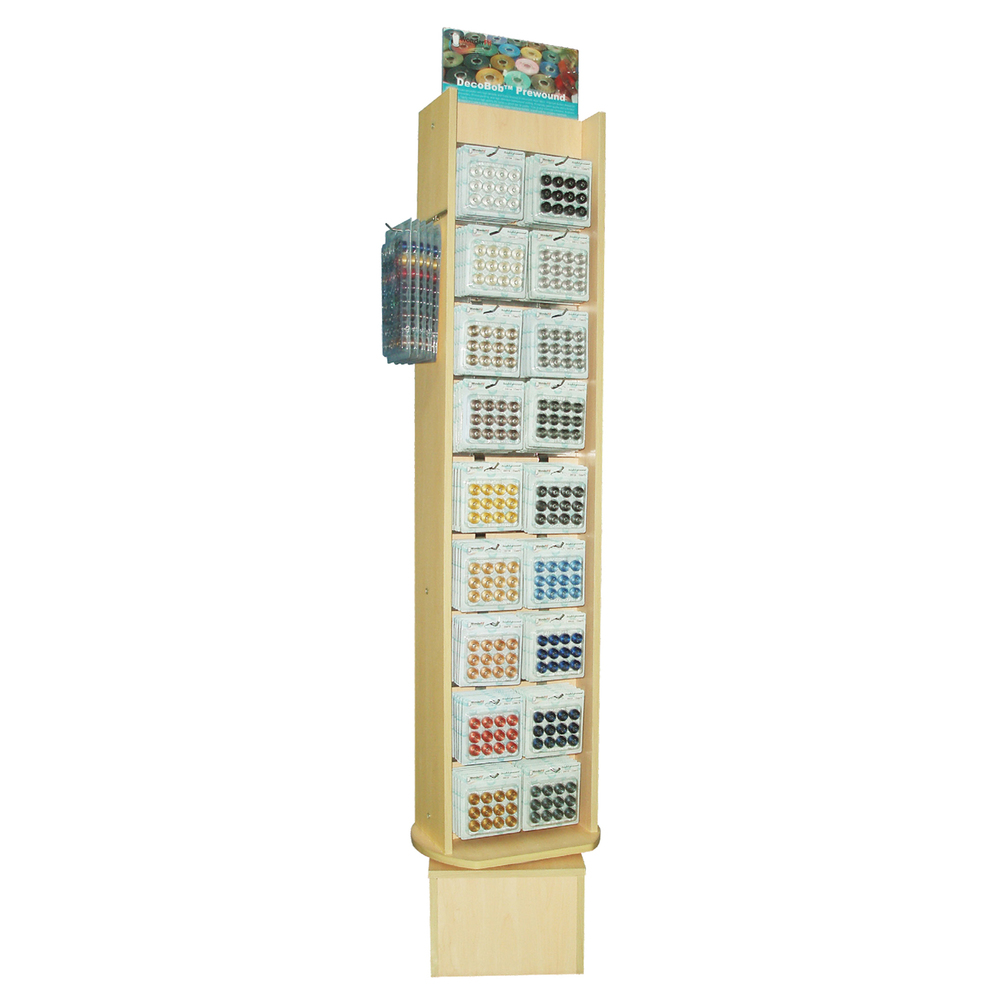 Large DecoBob Rotary Slat Tower Display