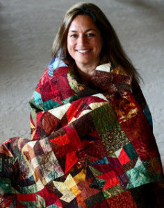 Ana Buzzalino is a fiber artist and quilt instructor living in Calgary, Alberta, Canada.