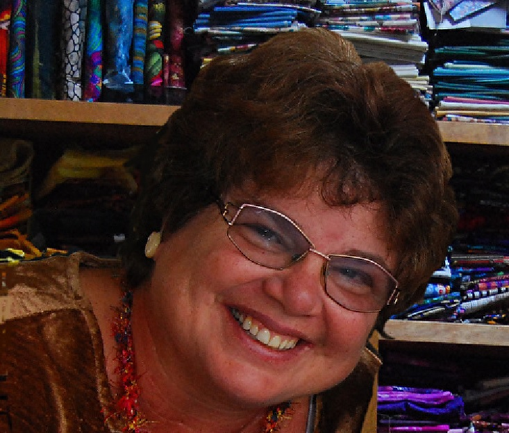 Phyllis is the Hawaii regional rep for SAQA,  an international organization (StudioArt Quilters Associates).
