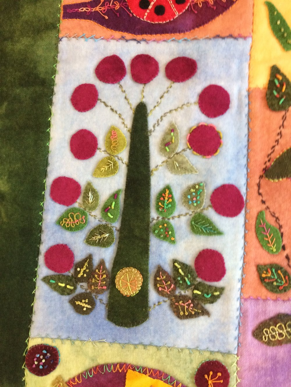 Oh Sue - Look What You Started  Hand Stitched by Donna Kendall
