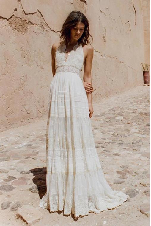 Angelica Halter Gown – Spell Bride