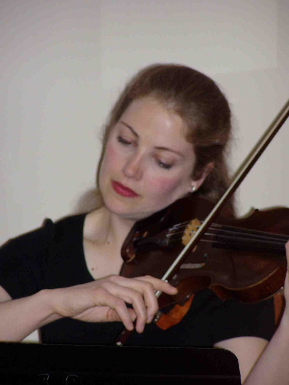 CAROLYN WILLIS, violin