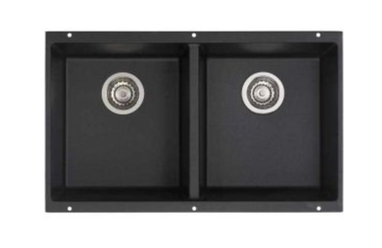 "Blanco Precis 29-3/4"" Double Basin Undermount Kitchen Sink, $406.27"
