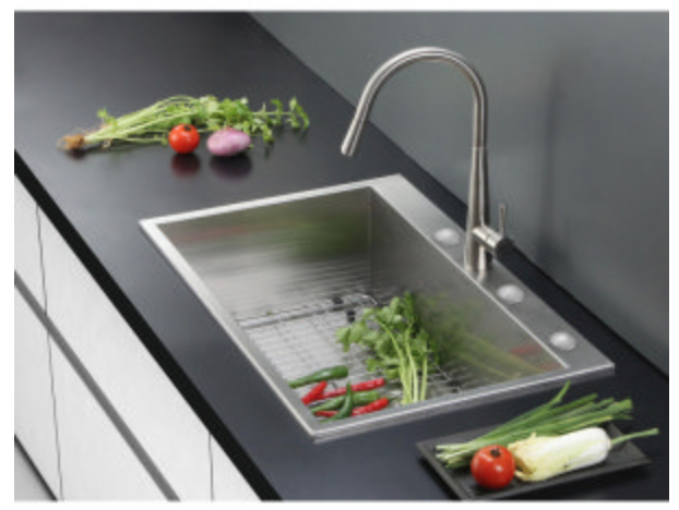 "Ruvati Tirana 33"" Single Basin Drop-In Kitchen Sink, $299.00"