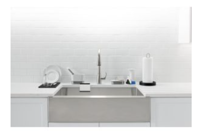 "Kohler Strive 35-1/2"" Single Basin Apron Front Kitchen Sink, $876.75"