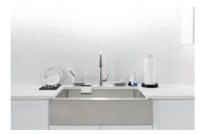 """Kohler Strive 35-1/2"""" Single Basin Apron Front Kitchen Sink, $876.75"""
