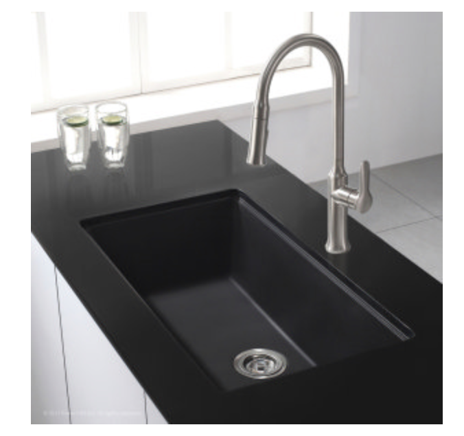"Kraus Kitchen Sink 31"" Single Basin Undermount Kitchen Sink"