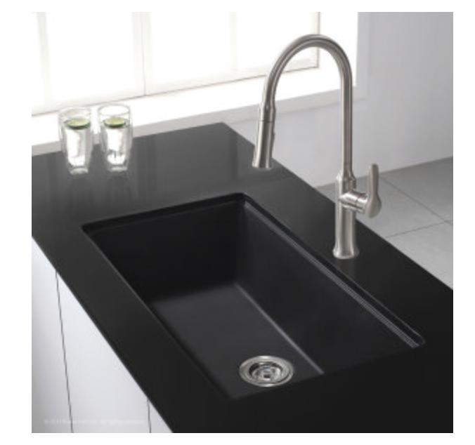 """Kraus Kitchen Sink 31"""" Single Basin Undermount Kitchen Sink, $227.95"""