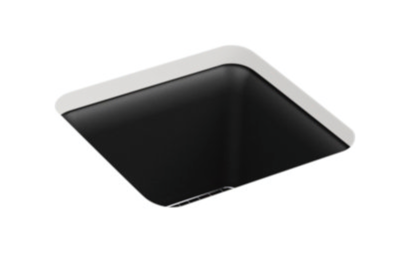 "Kohler Cairn 15-1/2"" Single Basin Undermount Bar/Prep Sink"