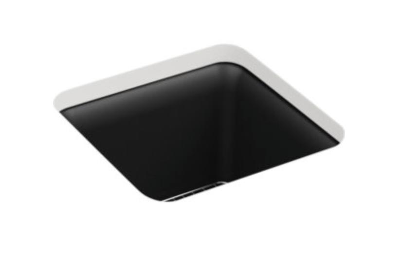 """Kohler Cairn 15-1/2"""" Single Basin Undermount Bar/Prep Sink, $269.25"""