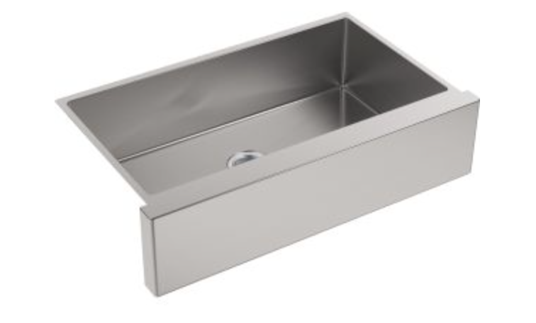 "Kohler Strive 35-1/2"" Single Basin Apron Front Kitchen Sink"