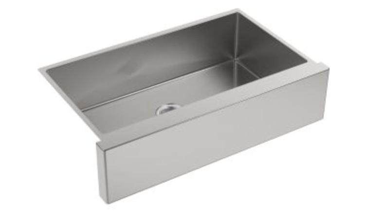 """Kohler Strive 35-1/2"""" Single Basin Apron Front Kitchen Sink"""